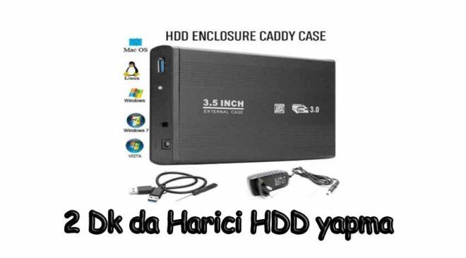 Hard disk kutusu