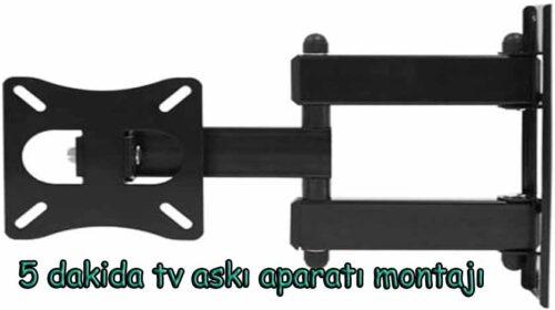 Tv askı aparatı tavsiye