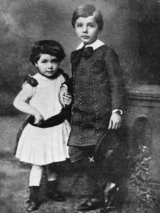 Albert Einstein kardeşi maja ile