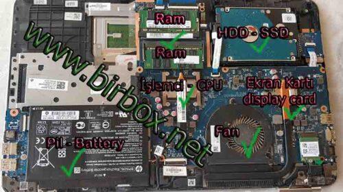 Hp Laptop Kasası Nasıl Açılır